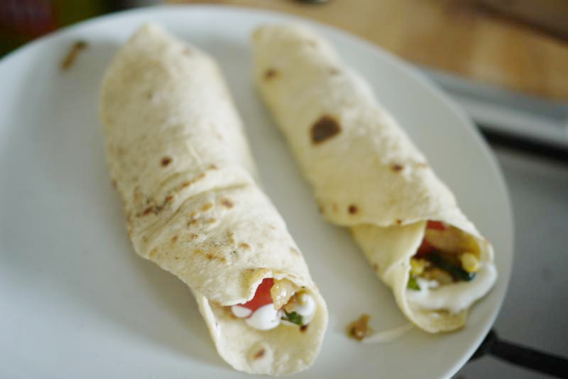 Tortillas Einfrieren